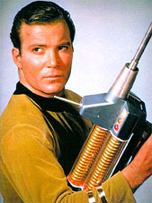 "Hey, ladies, check out my ""plasma rifle."""