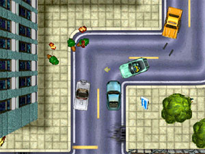 Grand Theft Auto 2. This doesn't look so very violent...