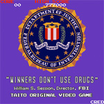 Winners don't do drugs!  And FBI Director William S. Sessions is a winner!